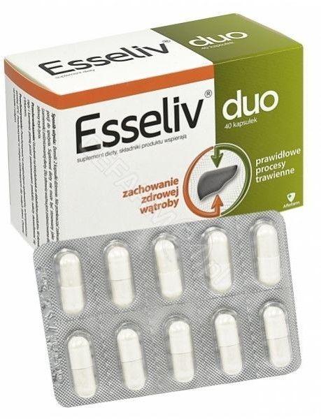 Esseliv Duo, 40 kapsułek