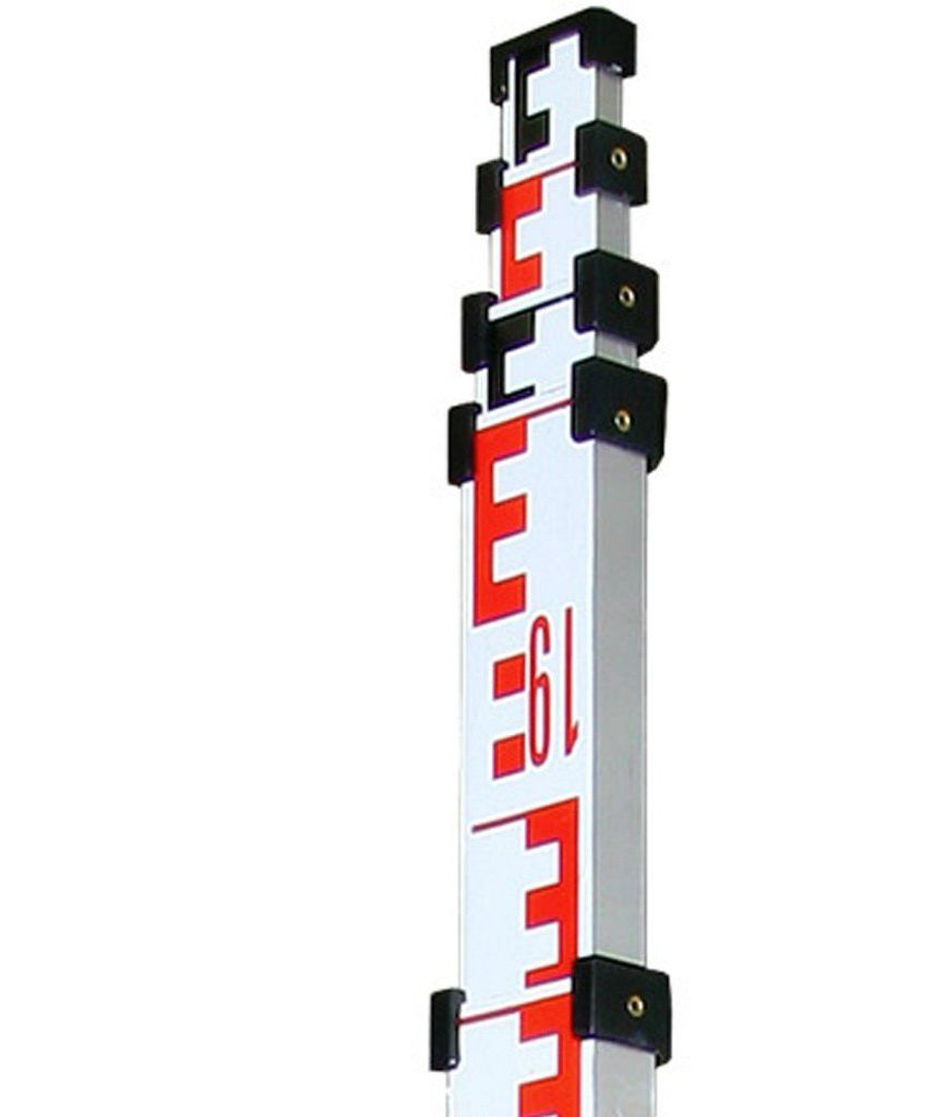 Łata kodowa do DiNi aluminiowa, teleskopowa TD25, 5 m 5 el
