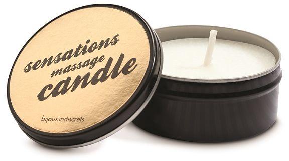 Bijoux Indiscrets Sensations Massage Candle - Massage Candle 35g