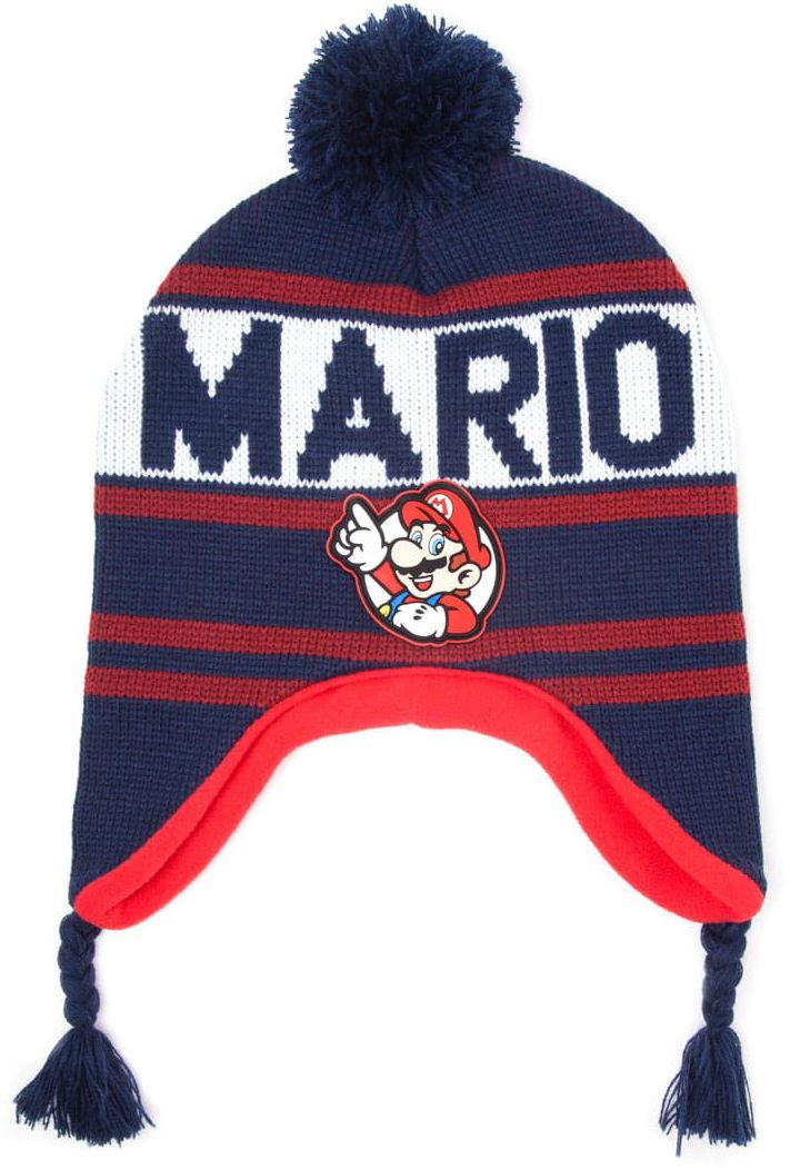 Czapka narciarska Super Mario - Mario