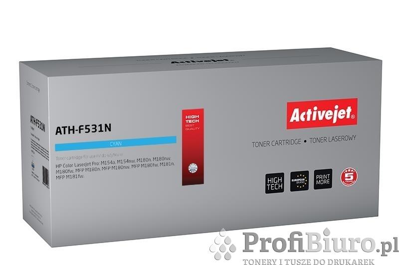 Toner Activejet ATH-F531N (zamiennik ; Supreme; 900 stron; niebieski)