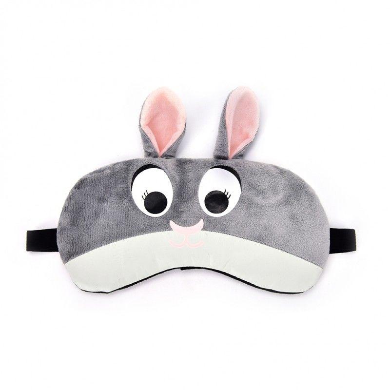 Opaska na oczy do spania królik z żelem BS00045