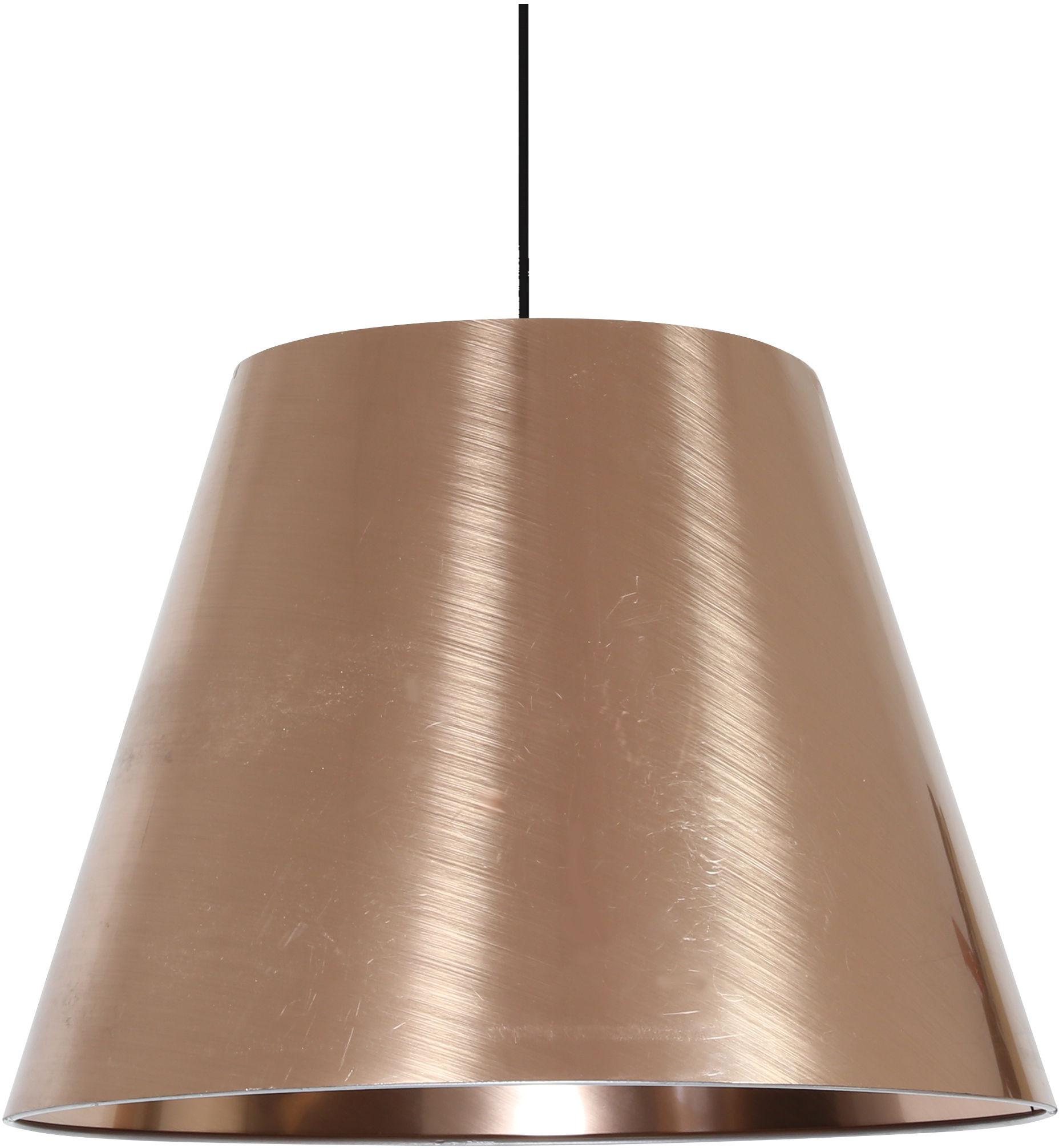 Candellux PLATINO 31-38302 lampa wisząca abażur 35 CM 1X60W E27 miedziany 35cm