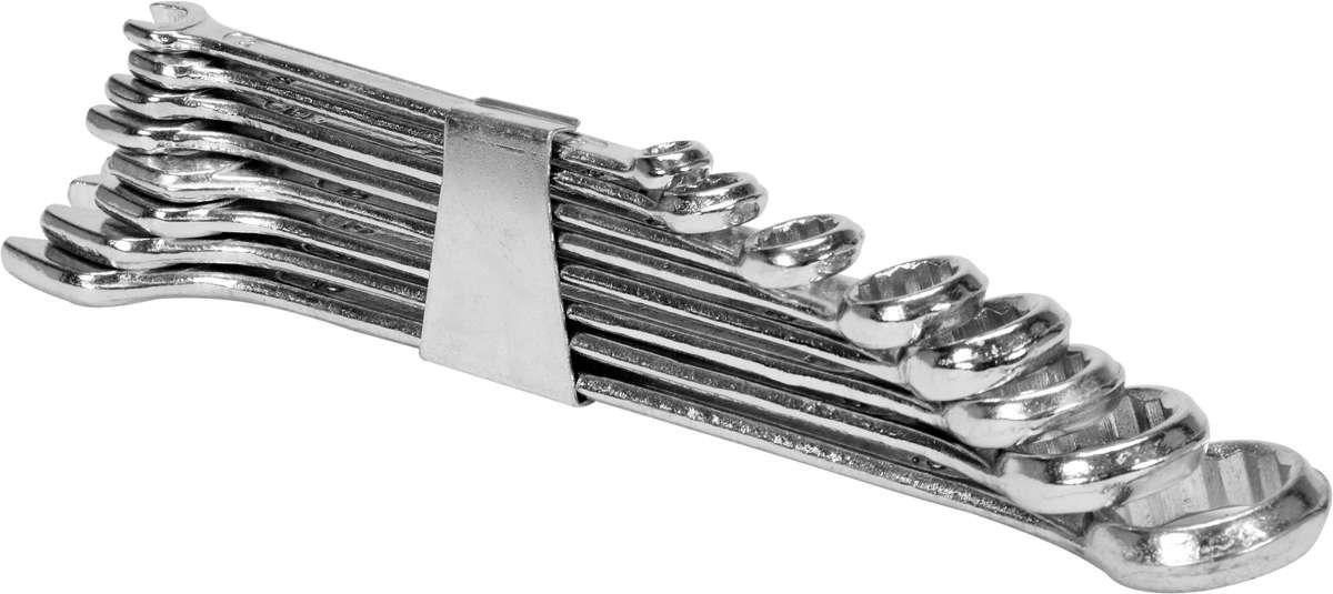Klucze płasko-oczkowe 6-19mm, kpl. 8szt. clip Vorel 51590 - ZYSKAJ RABAT 30 ZŁ