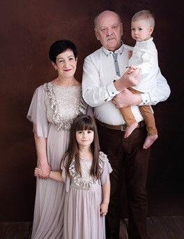 Portret rodzinny  rodzinna sesja zdjęciowa  Lublin