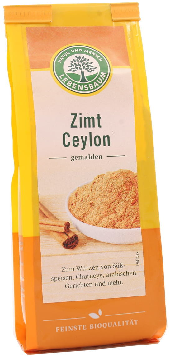 Cynamon mielony BIO - Lebensbaum - 50 g