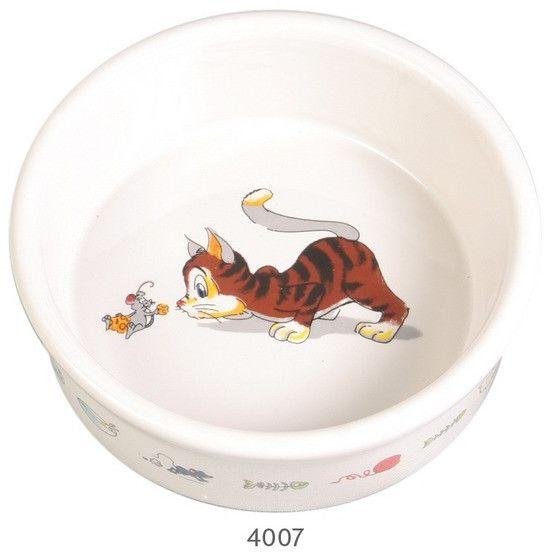 TRIXIE - TX-4007 Miska ceramiczna dla kota ø 11 cm 200ml