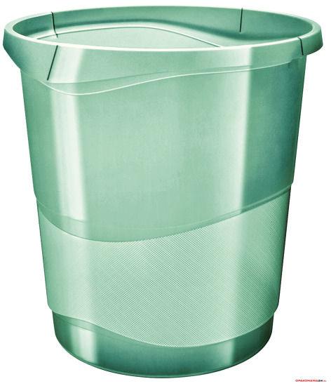 """Kosz na śmieci ESSELTE COLOUR""""ICE zielony 626290"""