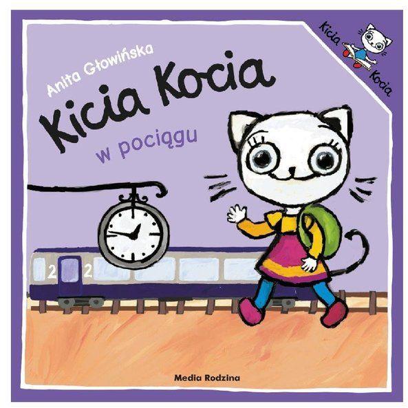 Kicia Kocia w pociągu