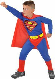 Ciao -Superman oryginalny kostium dziecięcy DC Comics (rozmiar 3-4 lata), kolor niebieski/czerwony, 11672.3-4