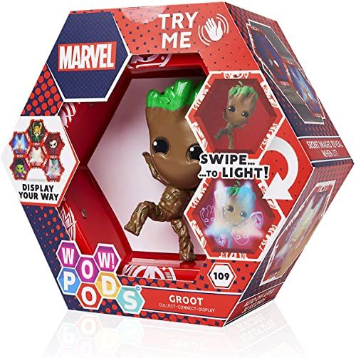 WOW! PODS Marvel Avengers Groot kolekcjonerska świecąca figurka