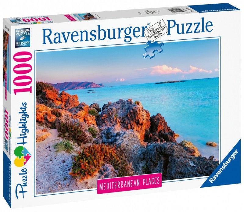 Puzzle Ravensburger 1000 - Grecja, Greece