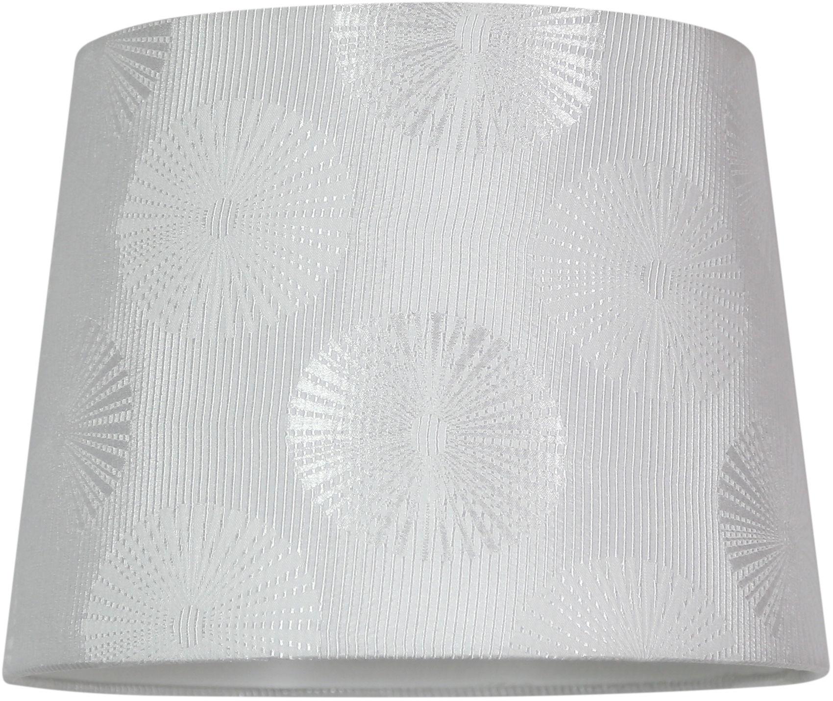Candellux WINTER 31-29867 lampa wisząca abażur biały 1X60W E27 33cm