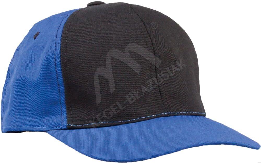 Czapka z daszkiem Work, niebieski/czarny