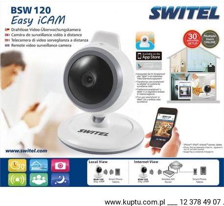 SWITEL BSW 120 Przenośna kamera do monitorowania dla smartfonów i tabletów