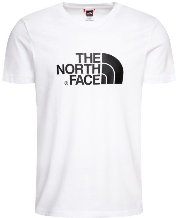 The North Face T-Shirt Easy NF0A2TX3FN4 Biały Regular Fit