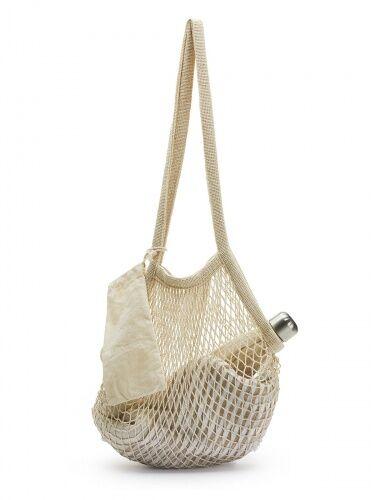 torba siatkowa, bawełna, 65 x 35 cm
