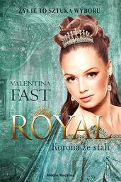 Royal korona ze stali ZAKŁADKA DO KSIĄŻEK GRATIS DO KAŻDEGO ZAMÓWIENIA
