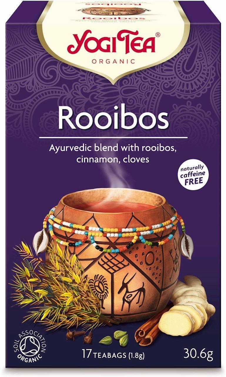 Herbatka rooibos bio 17 x 1,8 g 30,6 g - yogi tea