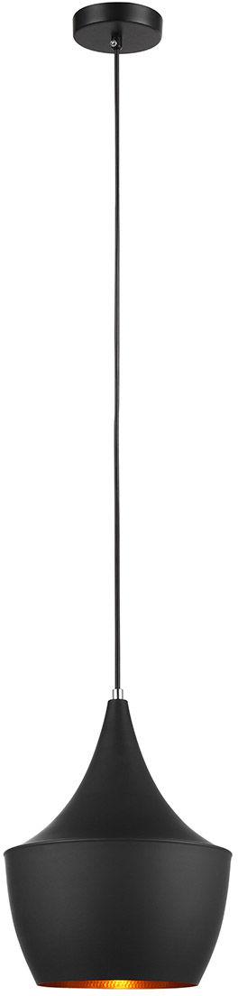 Italux lampa wisząca Pedro MDM-2362/1 czarna 24 cm