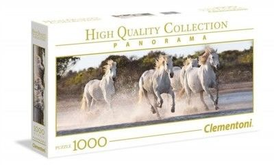 Puzzle Clementoni 1000 - Galop koni, Running Horses