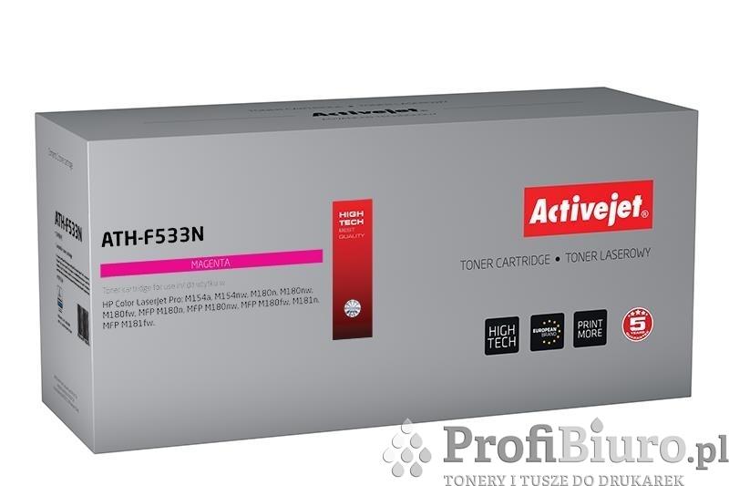 Toner Activejet ATH-F533N (zamiennik ; Supreme; 900 stron; czerwony)