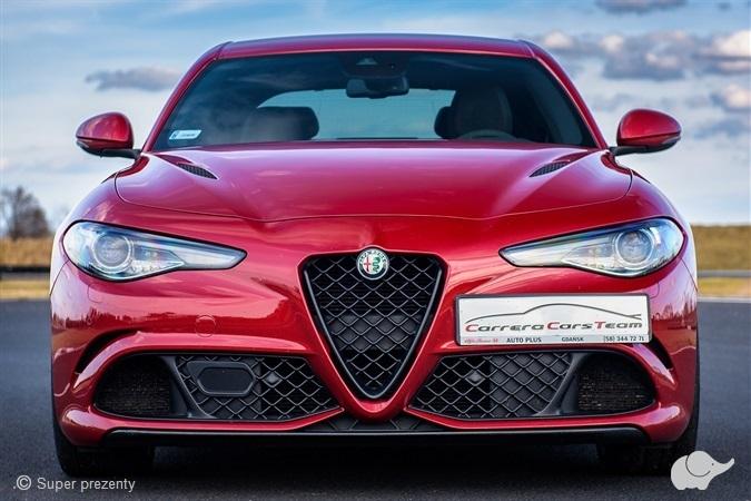 Jazda Alfa Romeo Giulia Quadrifoglio