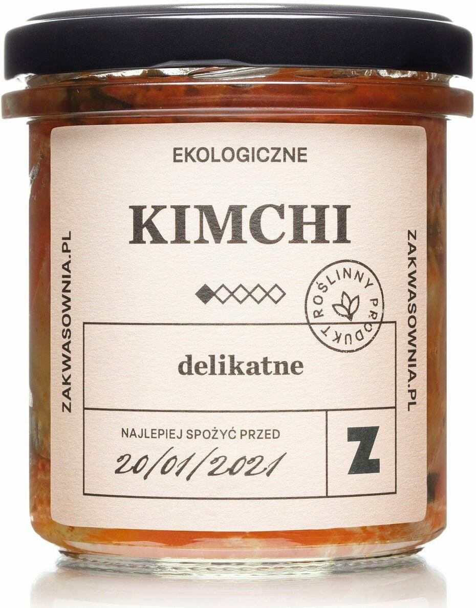 Kimchi delikatne bio 300 g - zakwasownia