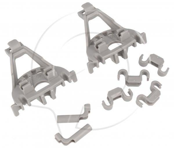 Zaczepy grzebienia kosza dolnego do zmywarki Bosch 00428344