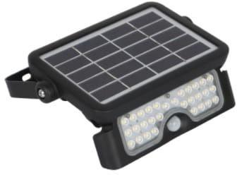 Naświetlacz LED SOLARNY MHC 5W biały neutralny z czujnikiem ruchu