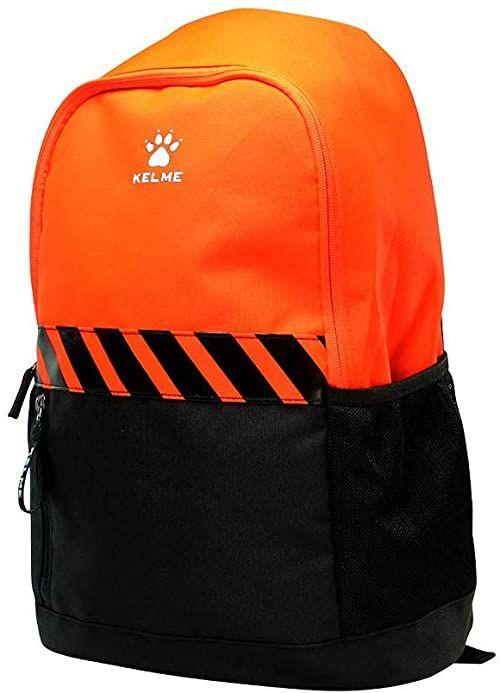 Kelme Campus plecak, unisex, czarny i pomarańczowy, jednokolorowy