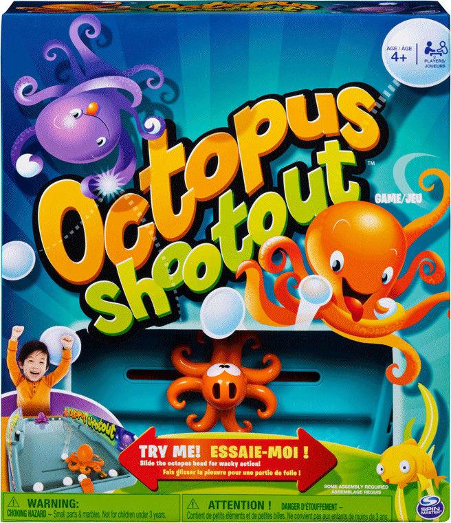 Spin Master Game Ośmiorniczki Cymbergaj 20119863