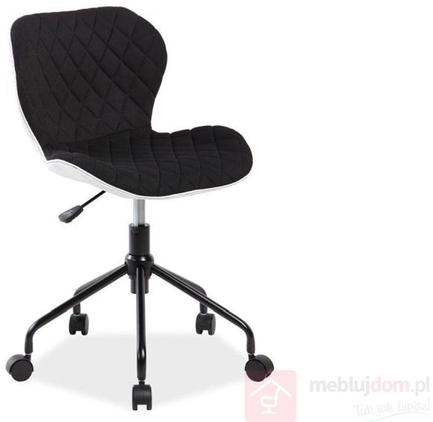 KUPON 10% NA STRONIE  Fotel obrotowy RINO Signal Czarny