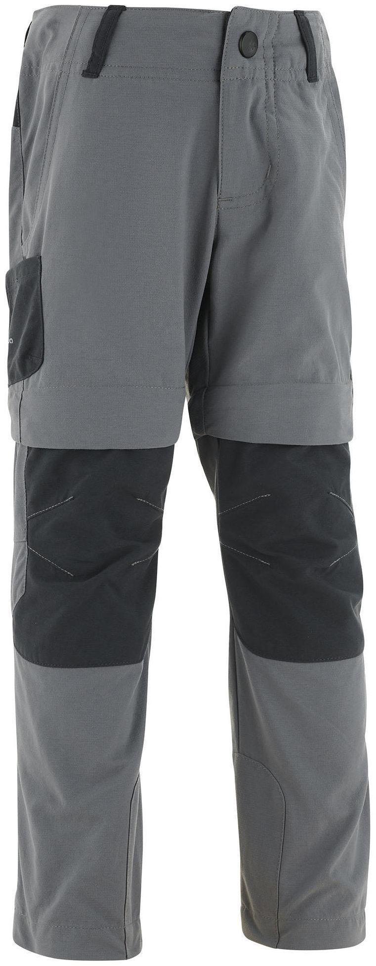Spodnie turystyczne dla dzieci Quechua MH500 2w1 2-6 lat