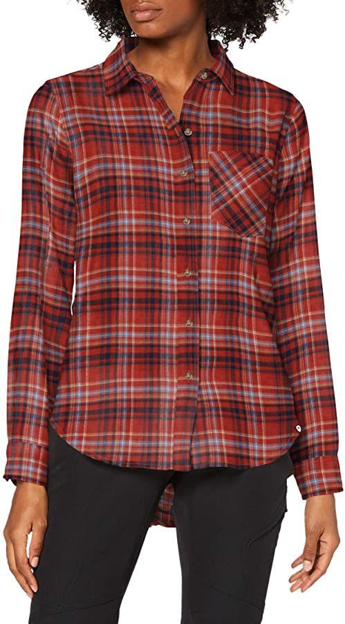 Marmot Damska magia Midweight flanelowa koszulka z długim rękawem różowy Picante L