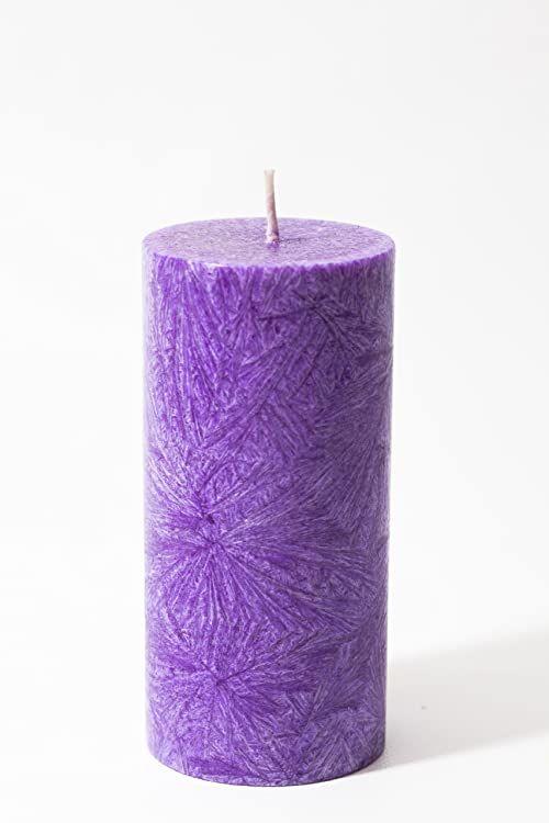 Kerzerman świeca bryłowa, fioletowa, 1