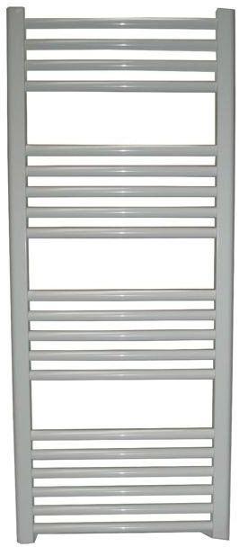 Grzejnik łazienkowy York - wykończenie proste, 500x1200, Biały/RAL - paleta RAL