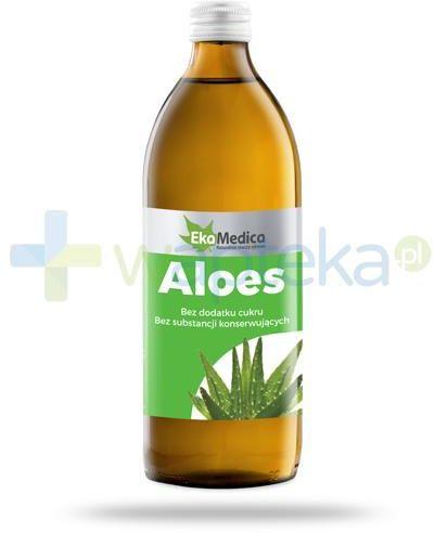 EkaMedica Aloes sok pasteryzowany 1000 ml