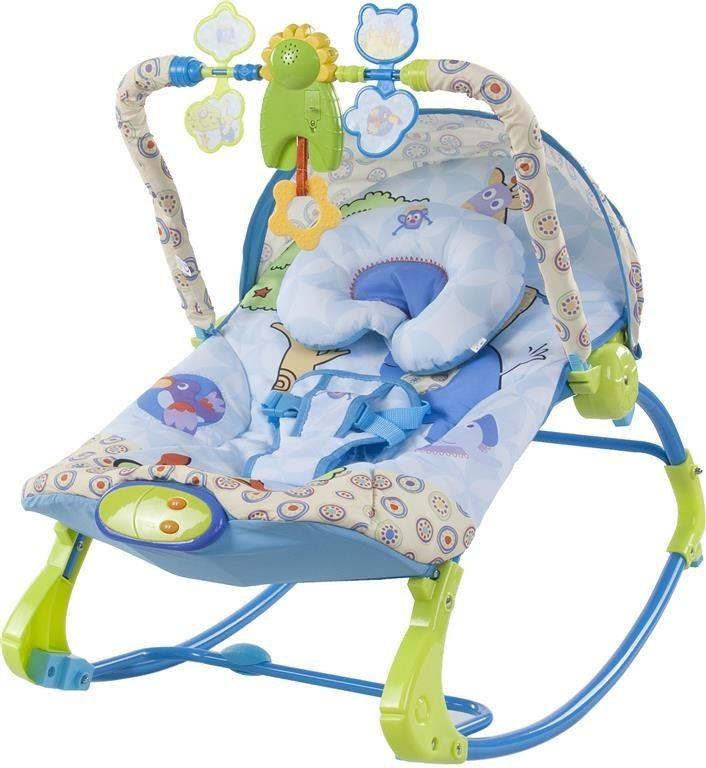 Leżaczek bujaczek - królestwo zwierząt Sun Baby