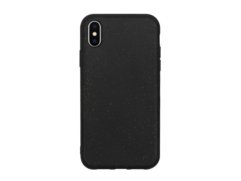 Apple iPhone XS - etui na telefon Forever Bioio - czarny