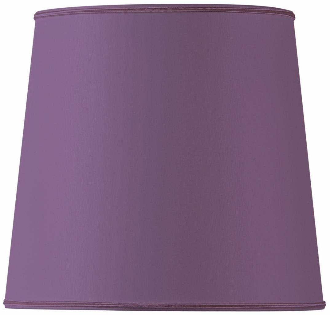 Klosz lampy w kształcie USA, średnica 45 x 35 x 35 cm, fioletowy