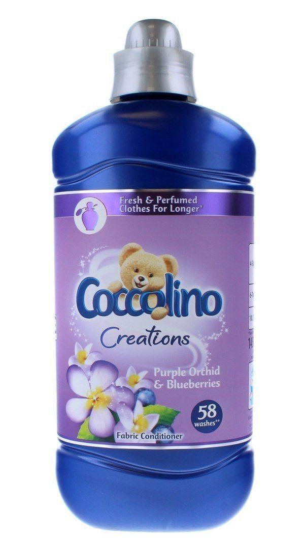 Coccolino Coccolino Creations Płyn do płukania tkanin Purple Orchid & Blueberries 1450ml