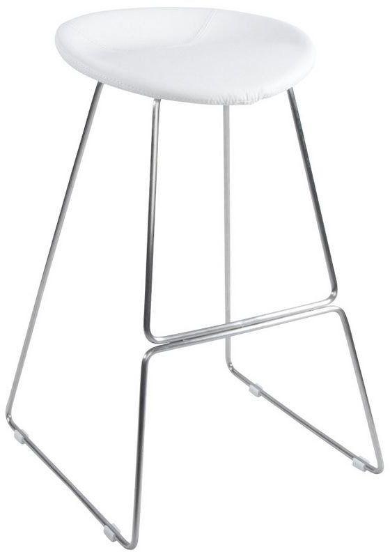 Kokoon design - taboret wysoki iso - biały
