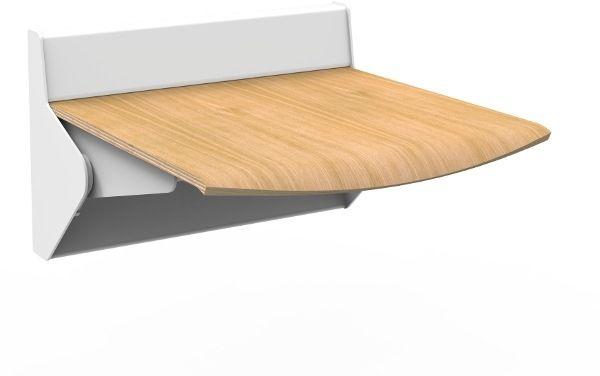 Straponten - naścienne siedzisko profilowane składane manualne (TPS2) ALLHALL