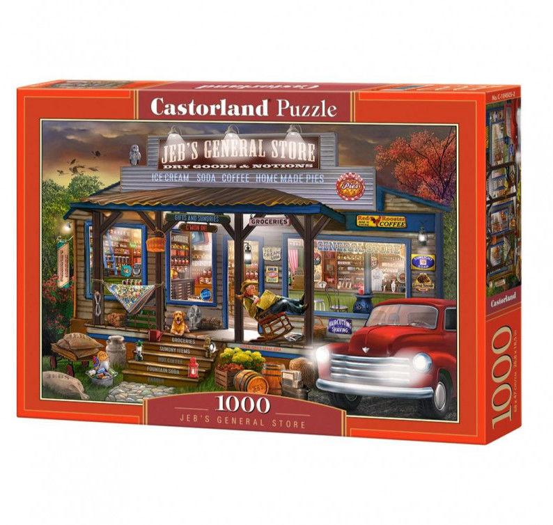 Puzzle Castor 1000 - Sklep wieleobranżowy, Jeb''s General Store