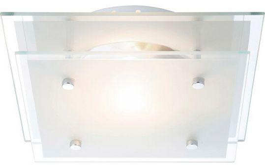 Globo plafon lampa sufitowa Indi 48168 szkło czyste satynowane 22cm