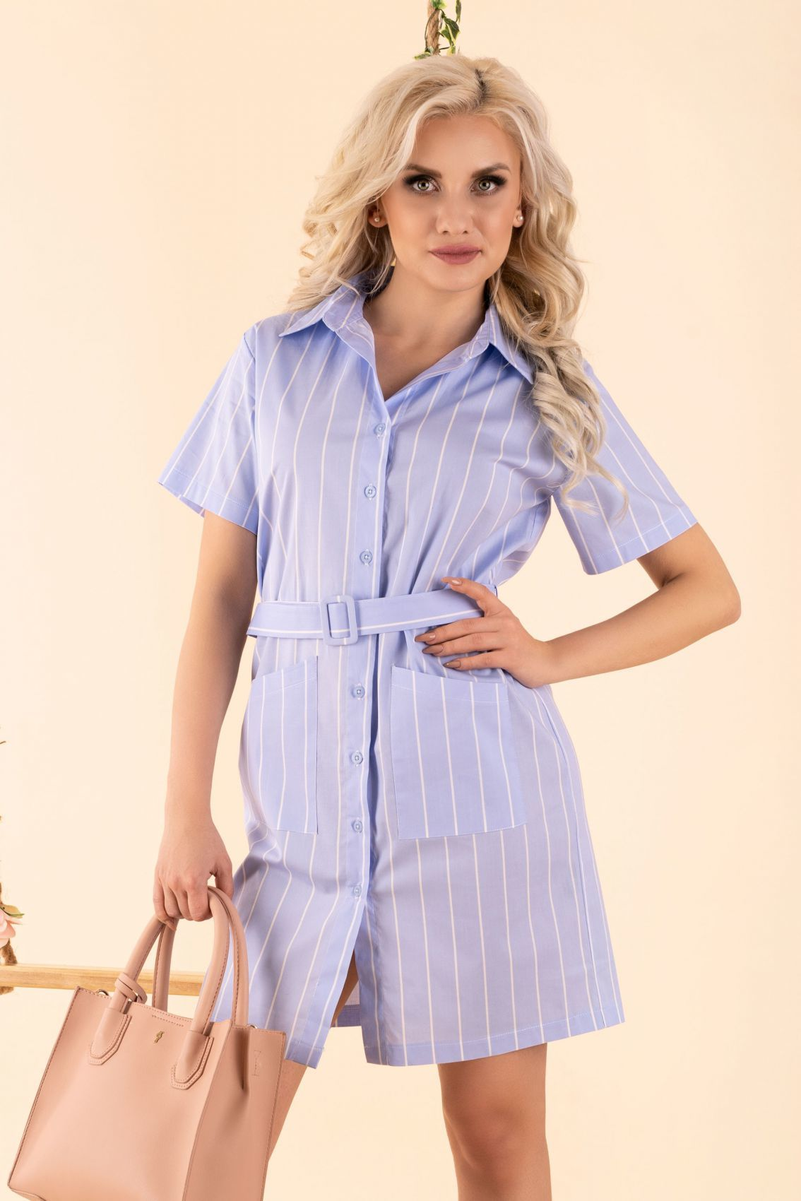Linesc Blue D88 sukienka