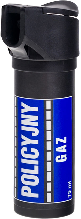 Gaz pieprzowy Policyjny 75 ml - strumień