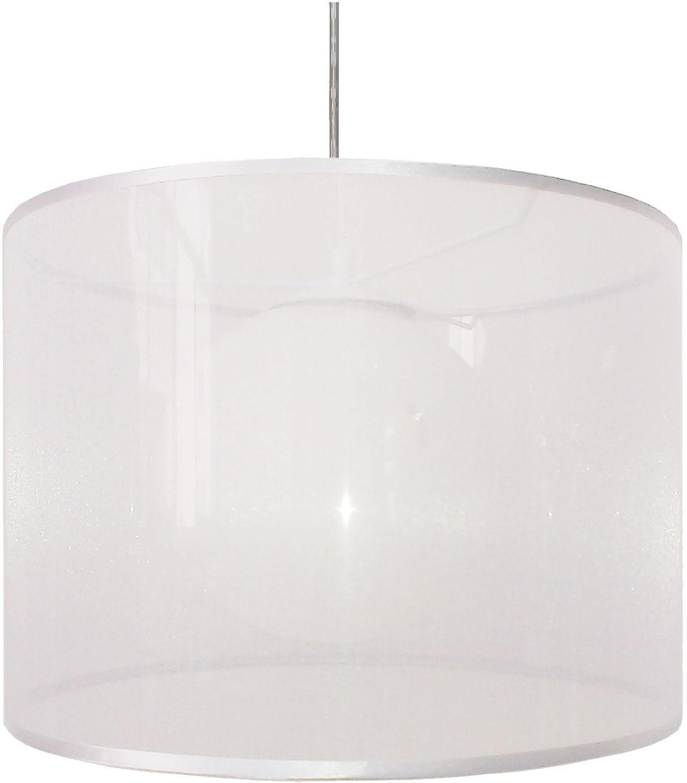 Candellux CHICAGO 31-24886 lampa wisząca abażur klosz biały szklana kula 1X60W E27 35cm