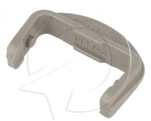 Przedni ogranicznik prowadnicy kosza do zmywarki Beko 1887460200